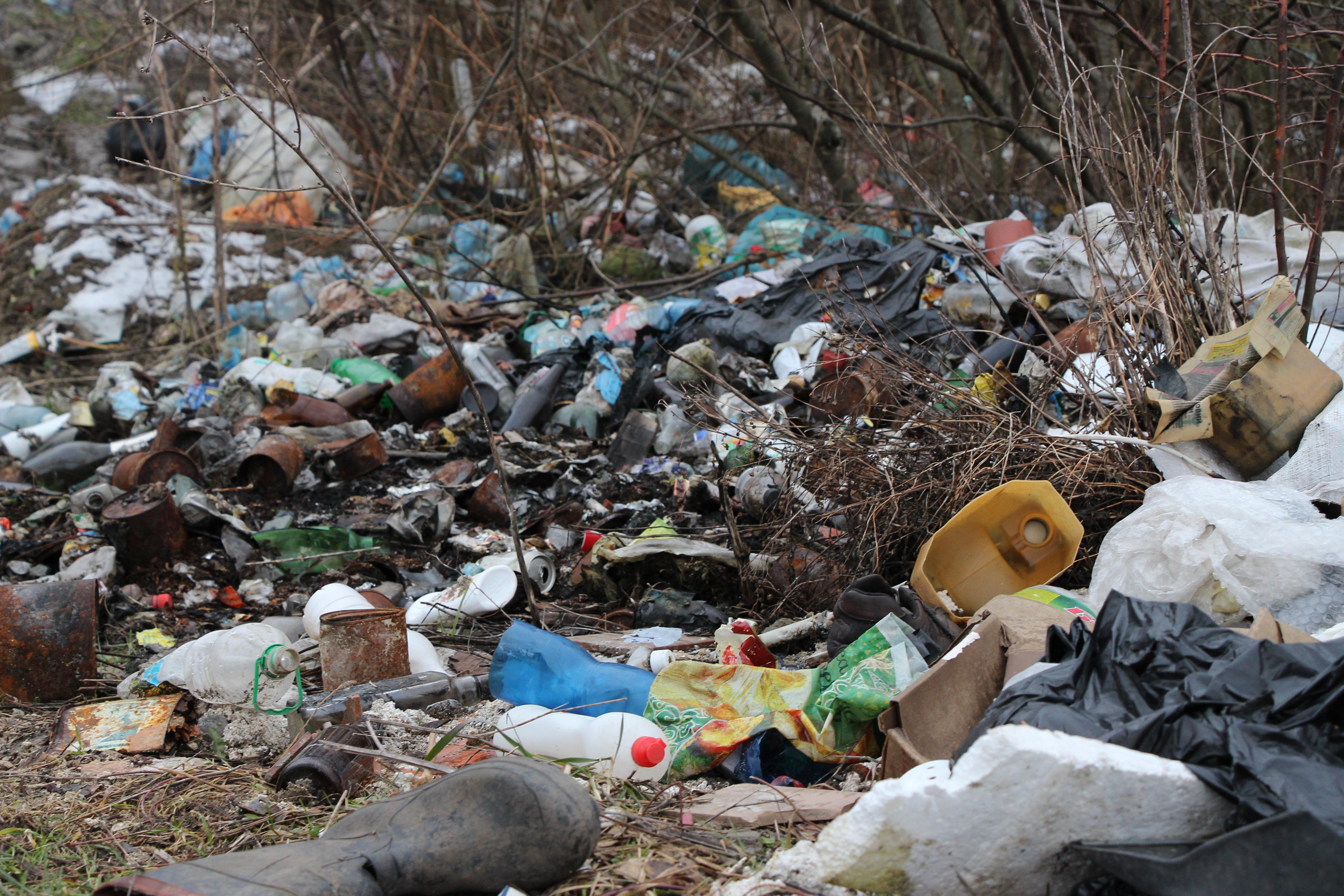 Кострино тоне у смітті (ФОТО)
