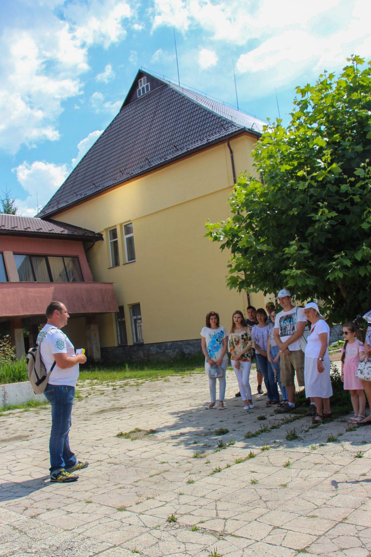 У Великому Березному провели відкриту екскурсію й розповідали про історію
