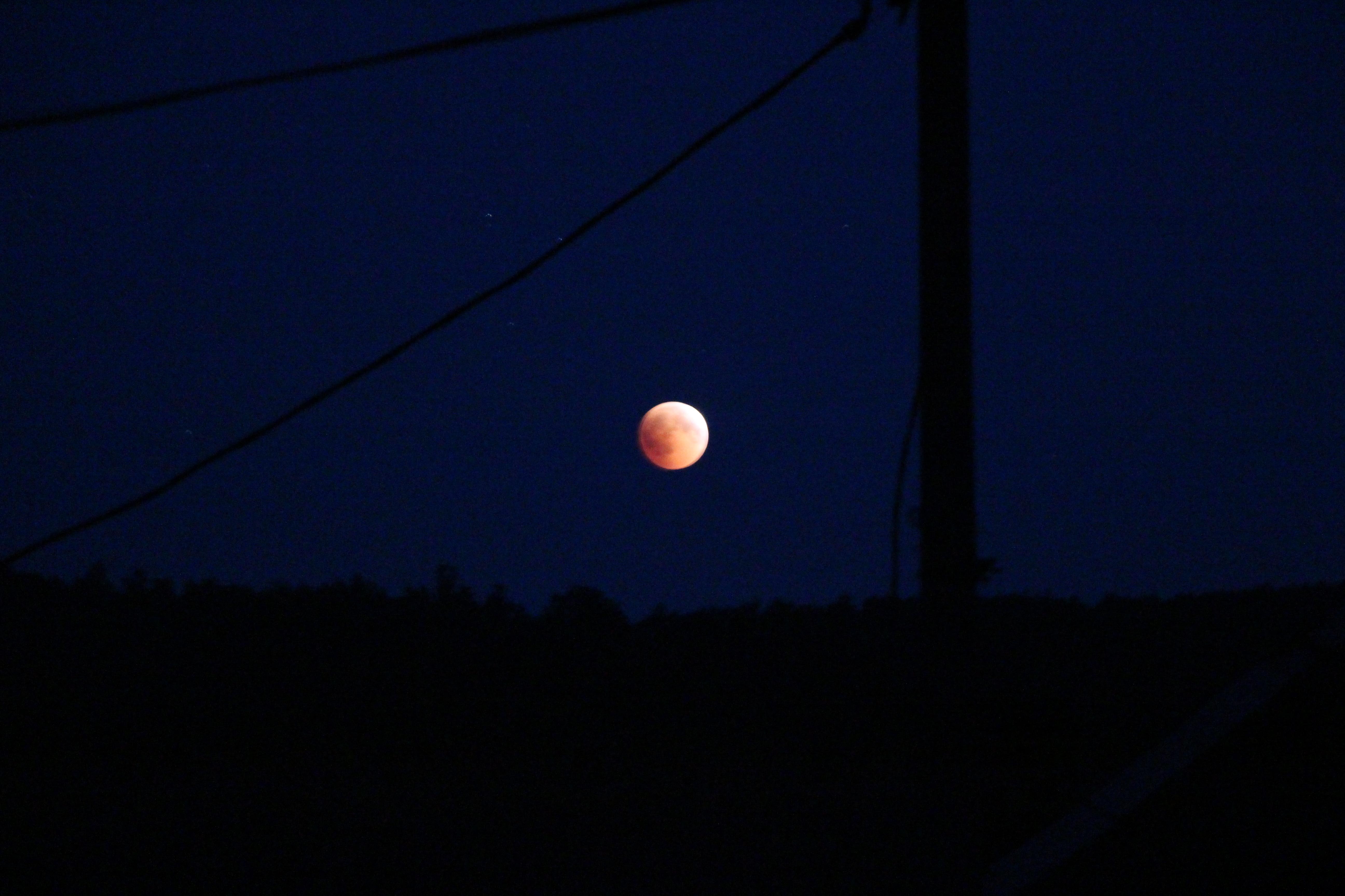Затемнення Місяця у Кострино (ФОТО)