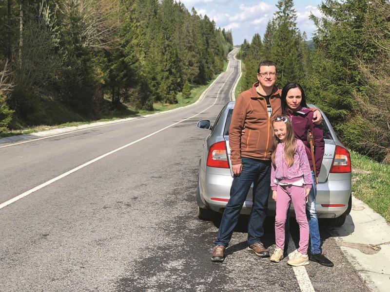 Віктор Стинич із сім'єю