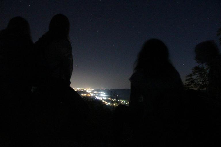 Як у Невицькому замку спостерігали зорепад Персеїди